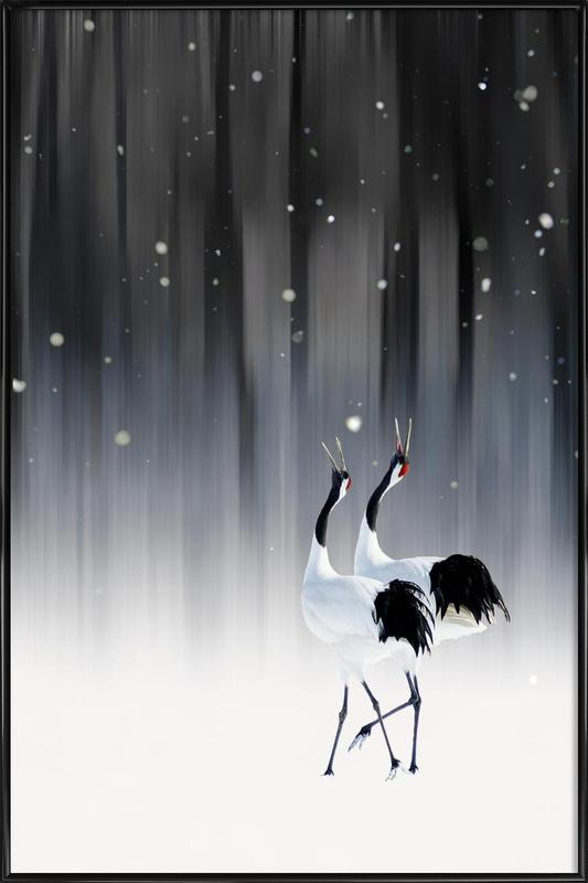 Happy New Year - Ikuo Iga ingelijste poster