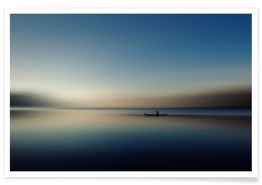 Alone in Somewhere - Cie Shin Poster