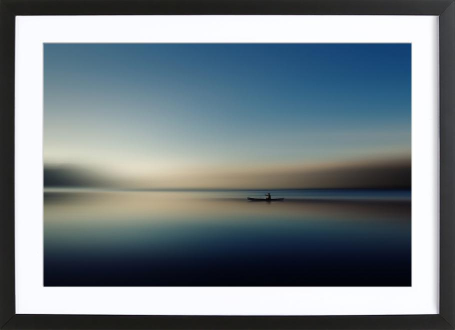 Alone in Somewhere - Cie Shin Framed Print