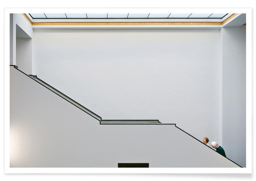 Stair-Up - Henk Van Maastricht Poster