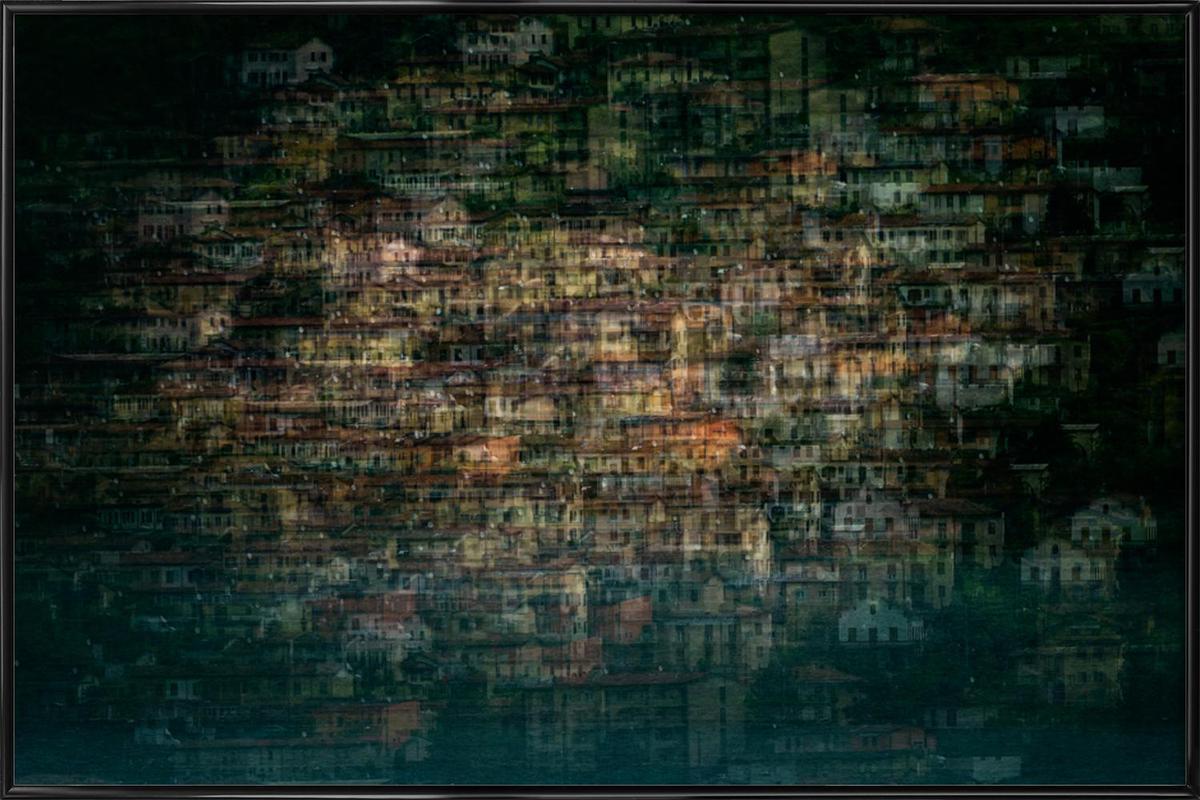 Multi House - Roberto Marini Framed Poster