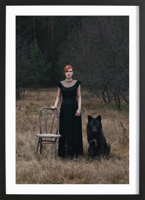 002 - Olga Barantseva ingelijste print