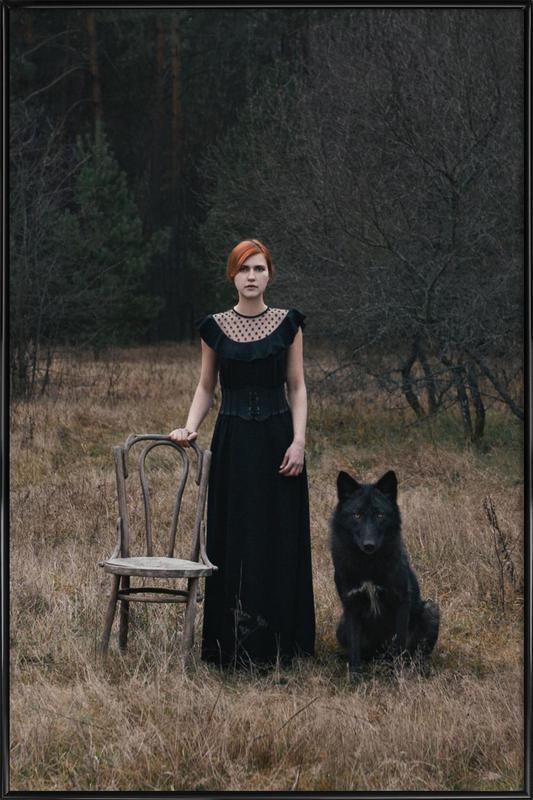 002 - Olga Barantseva ingelijste poster