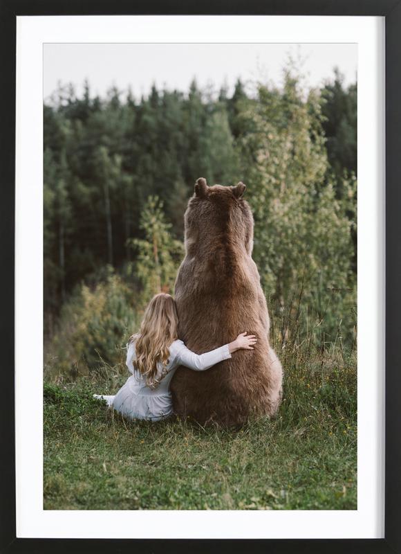 003 - Olga Barantseva ingelijste print