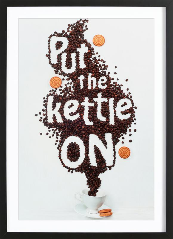 Put The Kettle On! - Dina Belenko ingelijste print