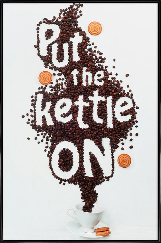 Put The Kettle On! - Dina Belenko ingelijste poster