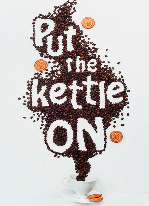 Put The Kettle On! - Dina Belenko canvas doek