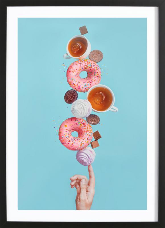 Weekend Donuts - Dina Belenko ingelijste print