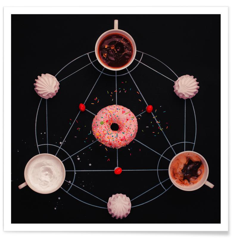 Sweet Alchemy Of Cooking - Dina Belenko -Poster