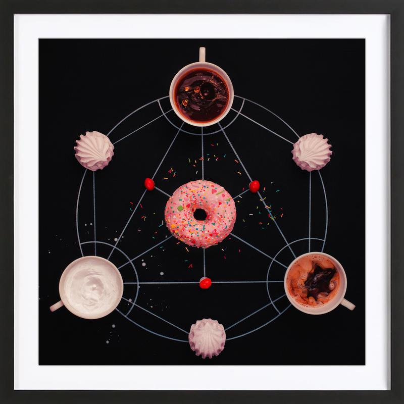 Sweet Alchemy Of Cooking - Dina Belenko -Bild mit Holzrahmen