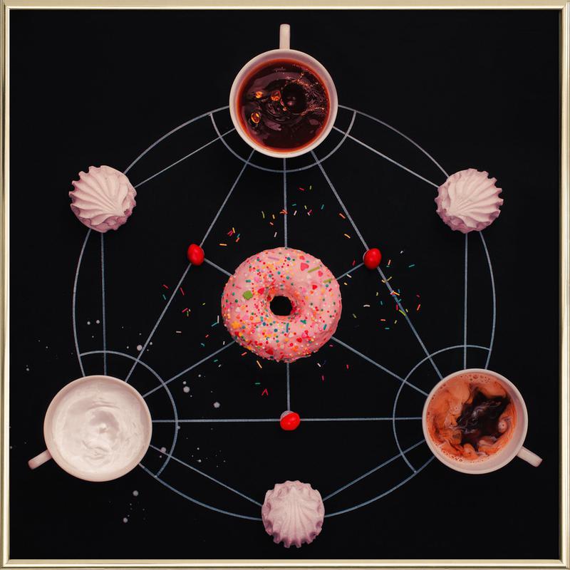 Sweet Alchemy Of Cooking - Dina Belenko poster in aluminium lijst