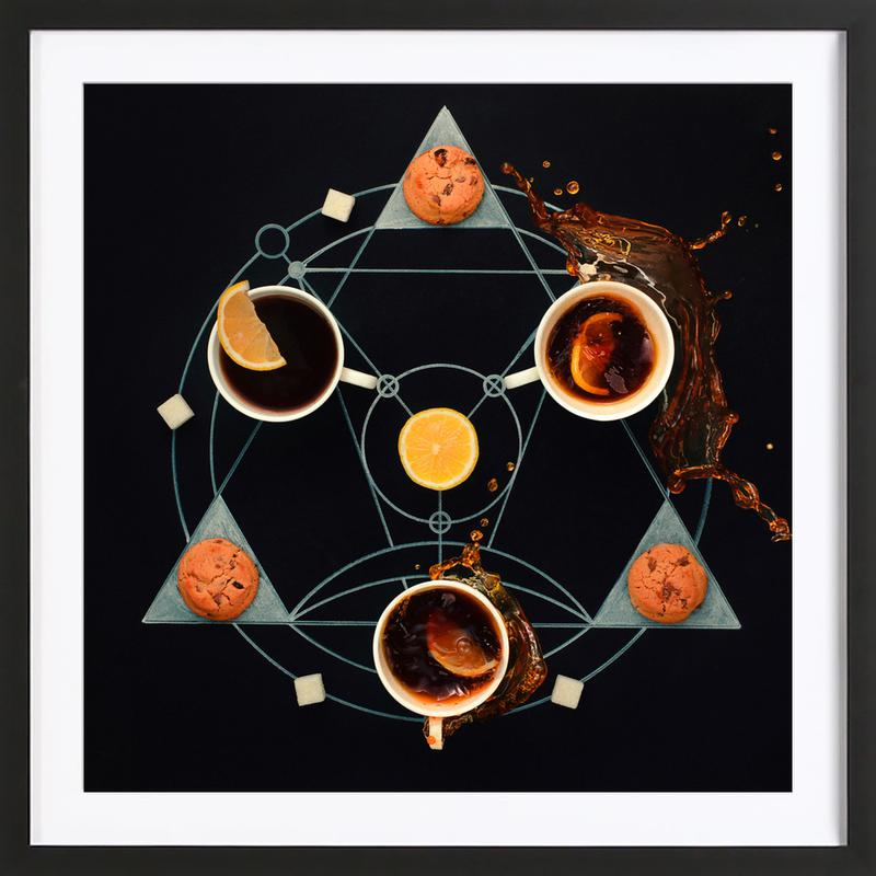 Teatime Alchemy - Dina Belenko ingelijste print