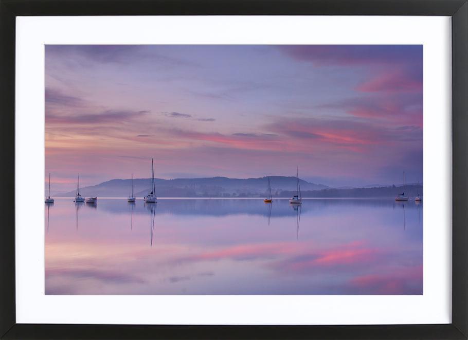 Pink Morning - Margarita Chernilova Framed Print
