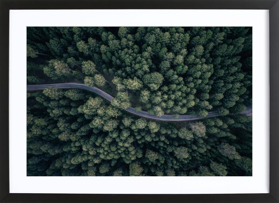 From Above - Antonio Carrillo Lopez Framed Print