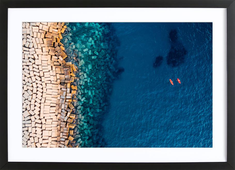 From Above II - Antonio Carrillo Lopez Framed Print