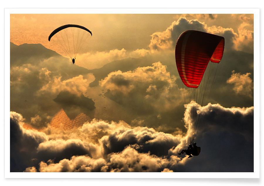 Paragliding 2 - Yavuz Sariyildiz -Poster