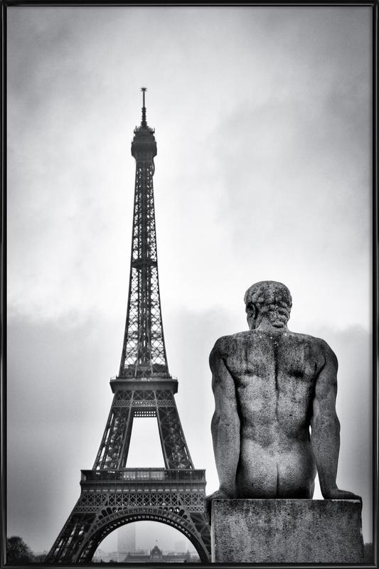 Steel Lady - Guillaume Vigoureux ingelijste poster