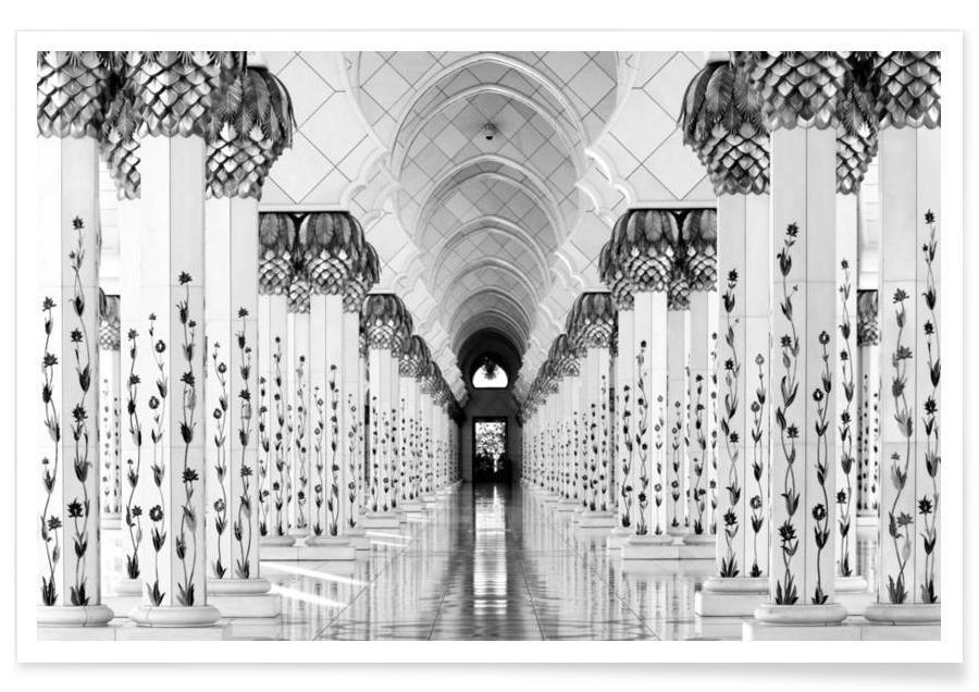 Sheik Zayed Mosque - H.W.Hawerkamp poster