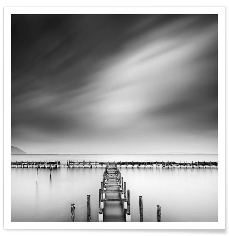 The Old Pier - George Digalakis poster