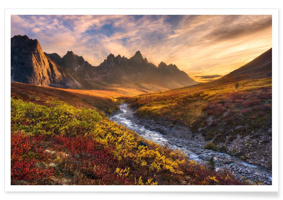 Mountain Paradise - Chris Moore Poster