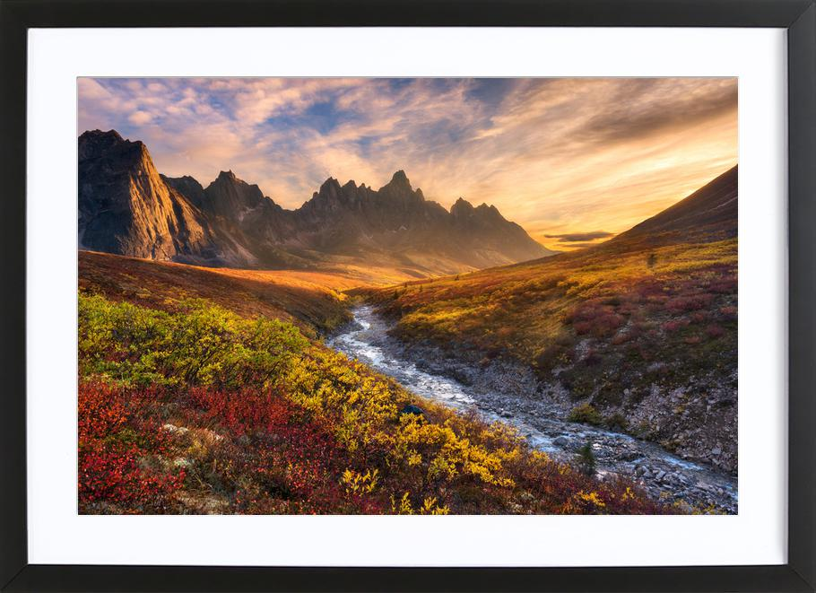 Mountain Paradise - Chris Moore Framed Print