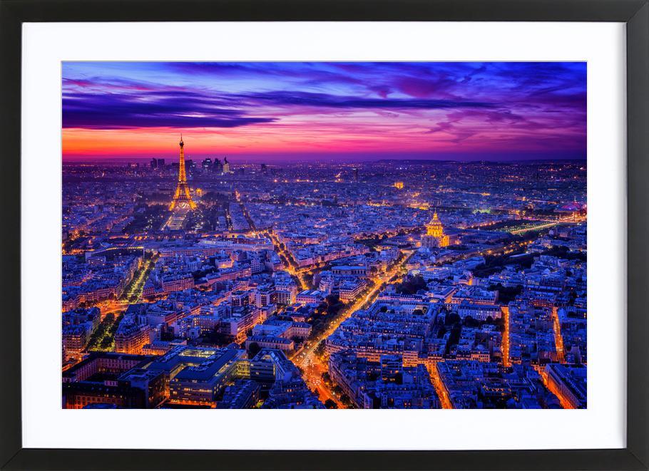 Paris I - Juan Pablo De Framed Print