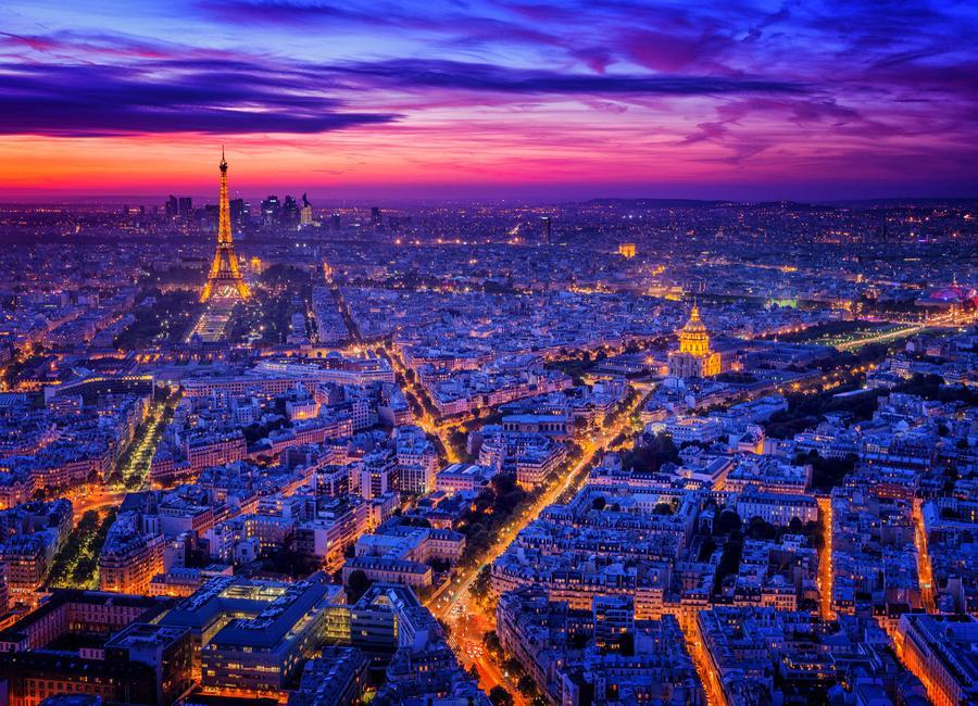Paris I - Juan Pablo De -Leinwandbild