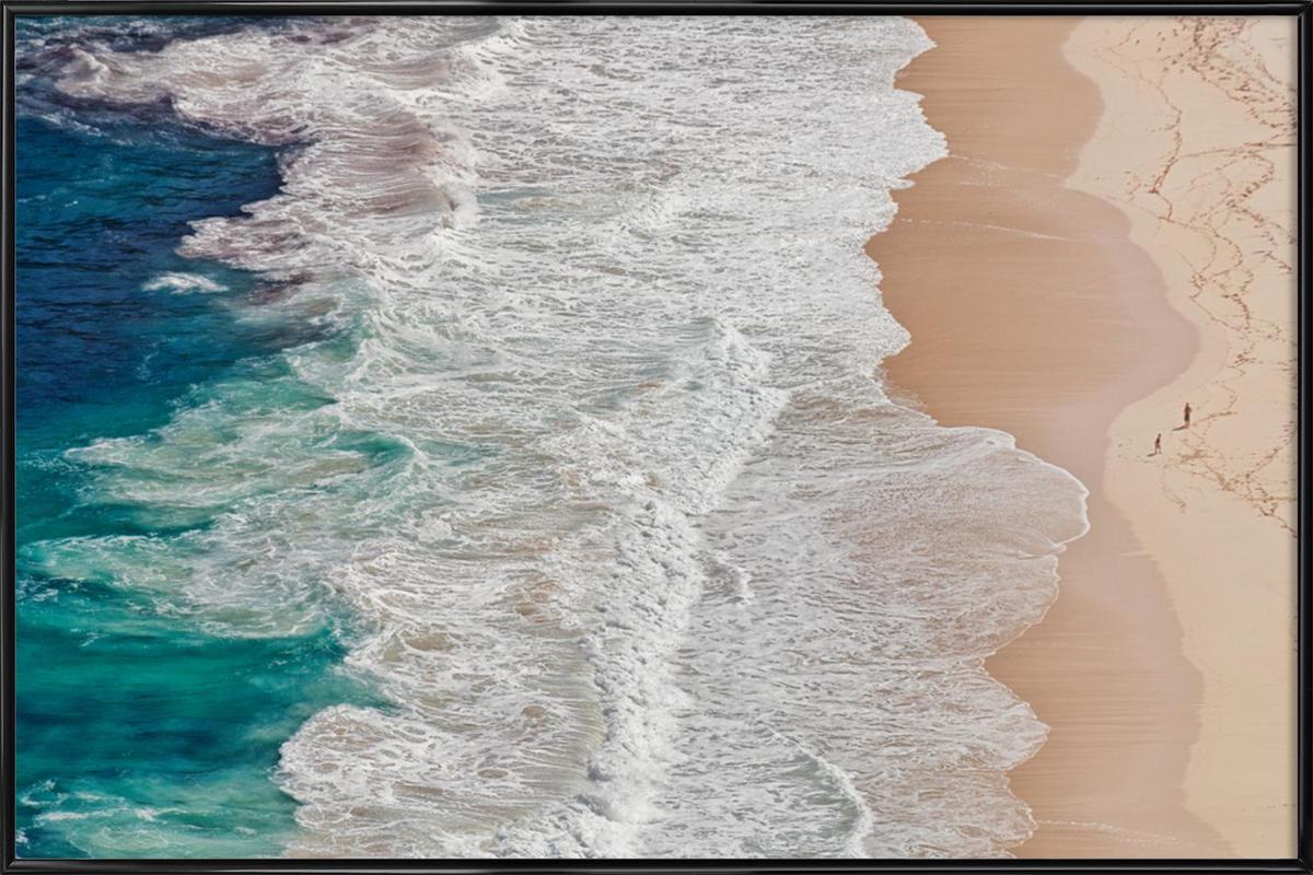 Where the Ocean Ends... - Andreas Feldtkeller Framed Poster