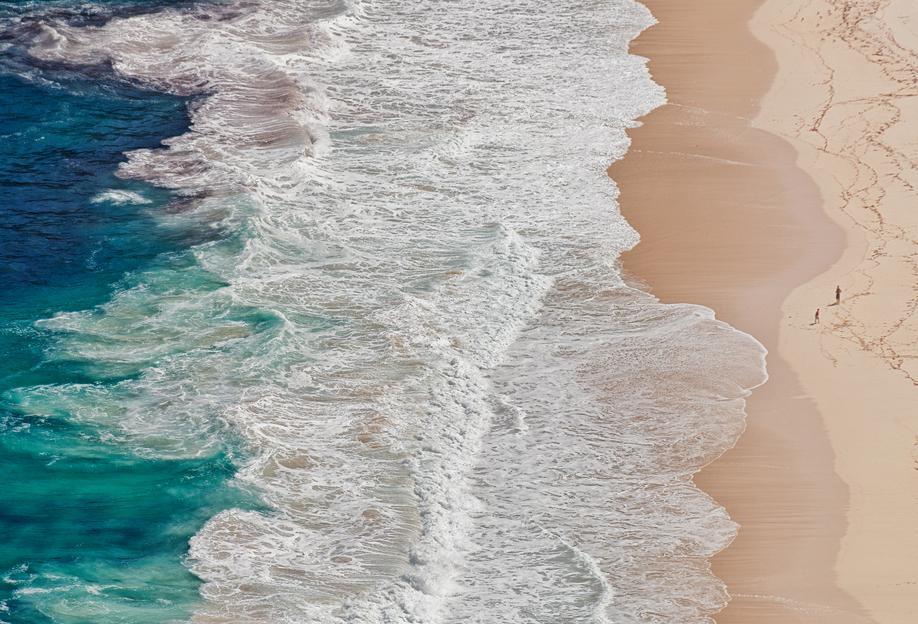 Where the Ocean Ends... - Andreas Feldtkeller Aluminium Print