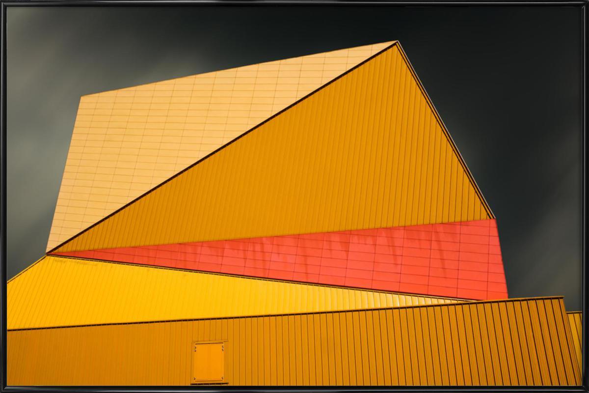 The Yellow Roof ingelijste poster
