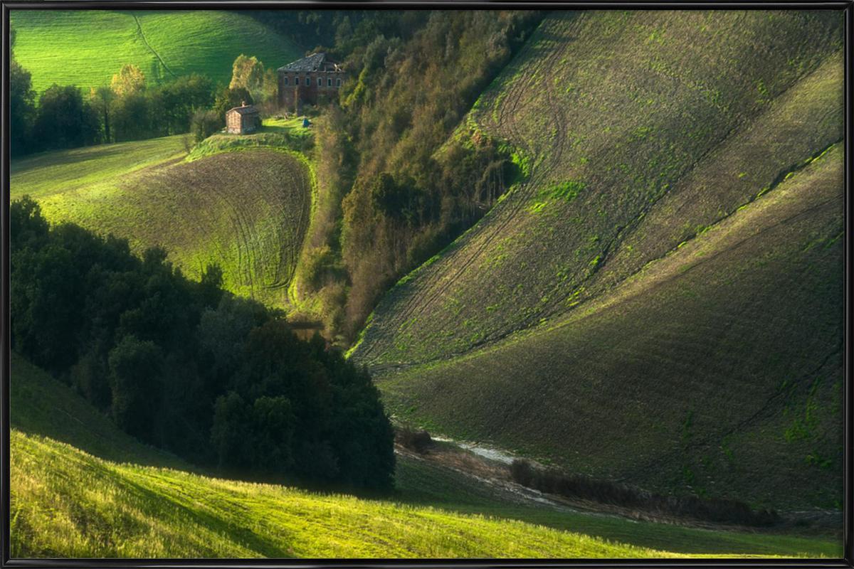 Crete Senses/Tuscany ingelijste poster