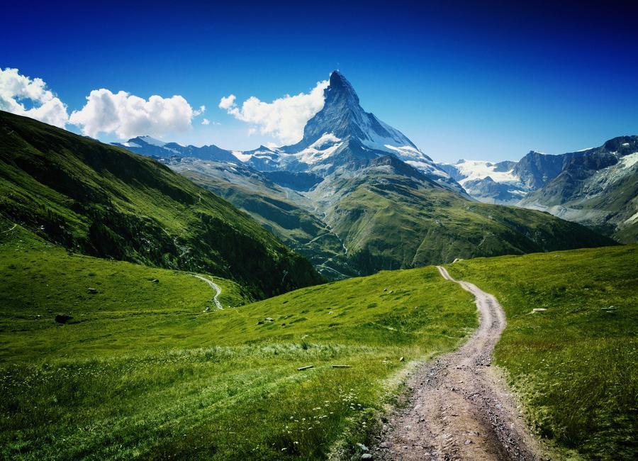 Matterhorn II -Leinwandbild