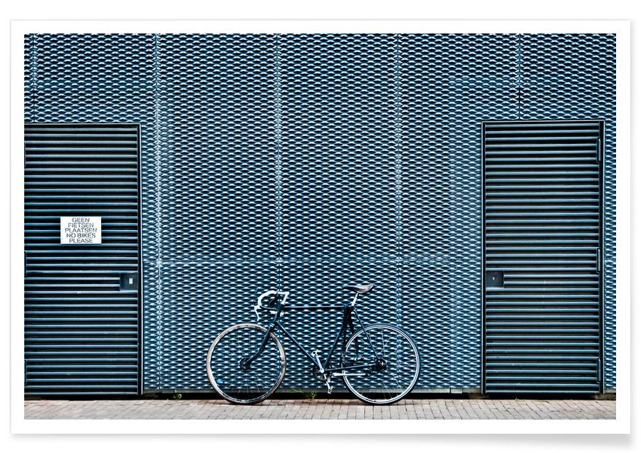No Bikes Please -Poster