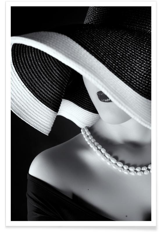 La femme au chapeau Poster