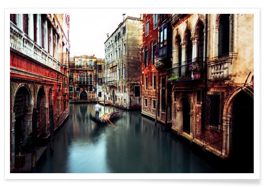 The Gondolier - Carmine Chiriaco -Poster