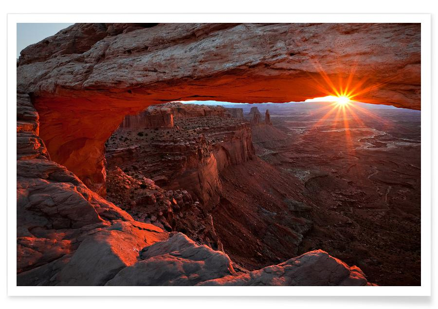Mesa Arch Sunrise - BarbaraRead affiche