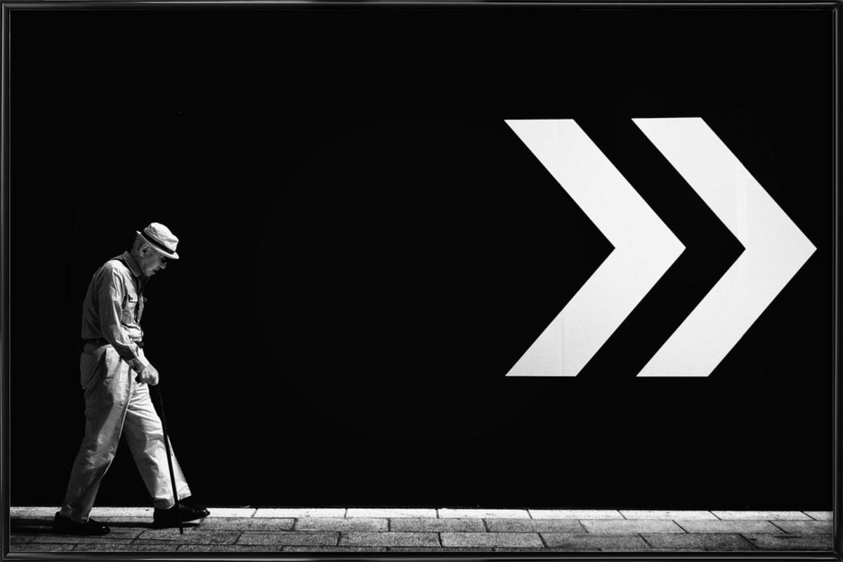 Untitled - Tatsuo Suzuki ingelijste poster