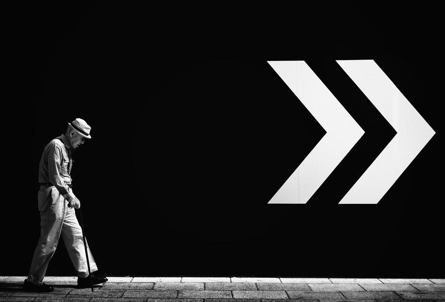 Untitled - Tatsuo Suzuki Impression sur alu-Dibond