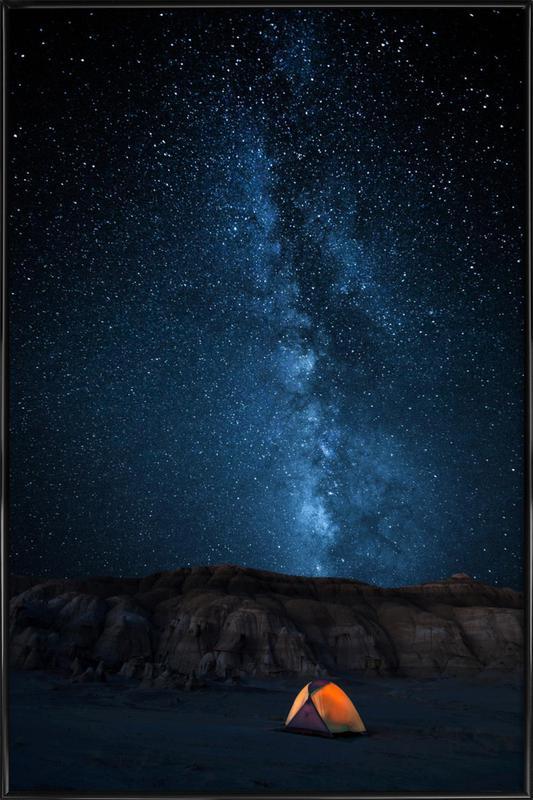 The Sky Is My Blanket - John Fan affiche encadrée