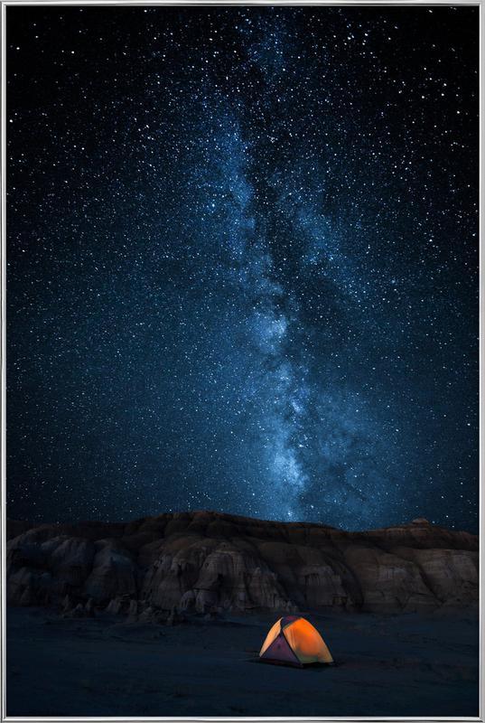 The Sky Is My Blanket - John Fan affiche sous cadre en aluminium