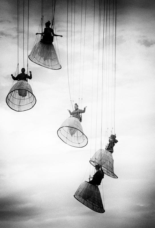 Dutch Angels - Julien Oncete Impression sur alu-Dibond