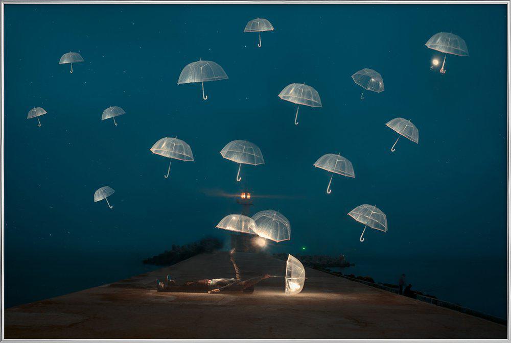 DREAMS - Alexandar Lazarov affiche sous cadre en aluminium