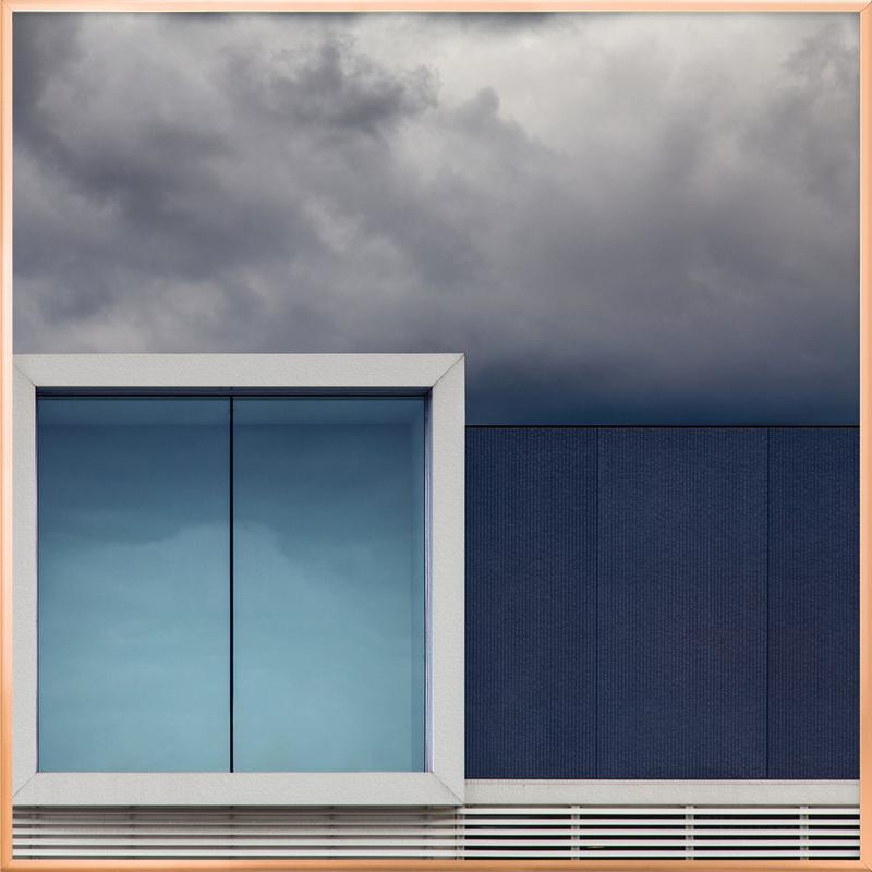 Nothing to Show - HarryVerschelden affiche sous cadre en aluminium