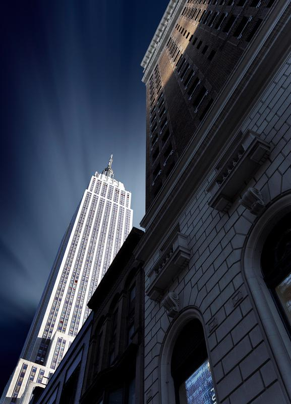 Skyscraper - Sebastien DEL GROSSO toile