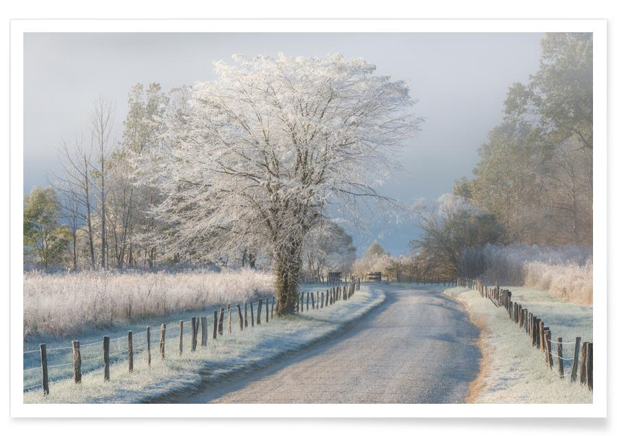 A Frosty Morning - Chris Moore Poster | JUNIQE