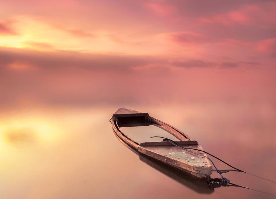 The Boat - Joaquin Guerola toile