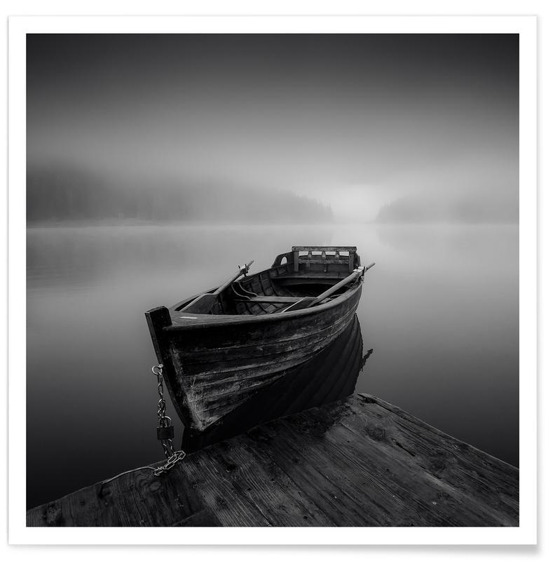 Misty Lake - Anton Shvain Poster