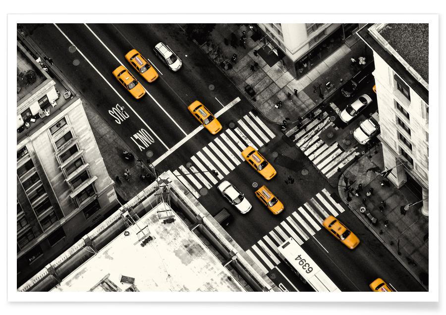 Yellow Flow - Stefan Klören Poster