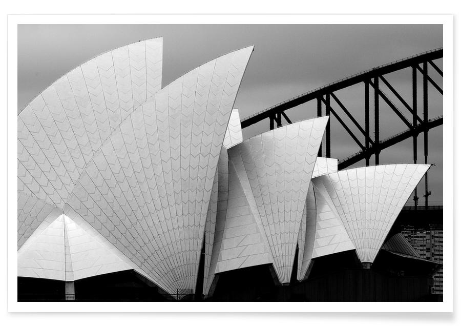 Opera House Sydney - Alida van Zaane Poster