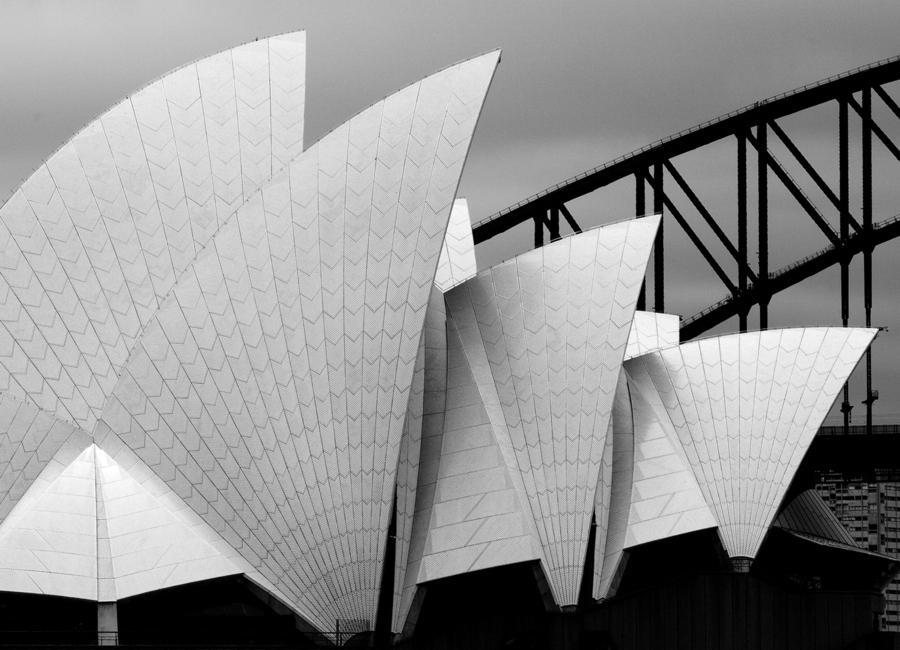 Opera House Sydney - Alida van Zaane -Leinwandbild